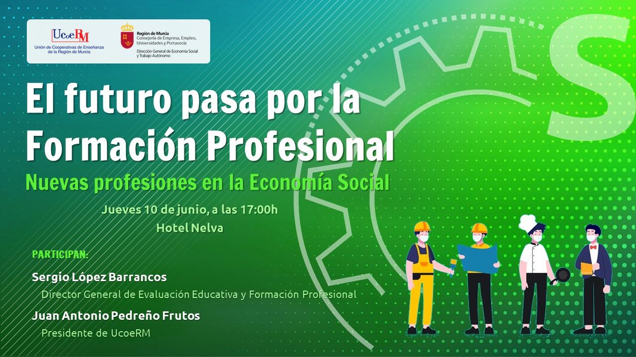 Ucoerm ofrece el seminario sobre Formación Profesional y las profesiones del futuro
